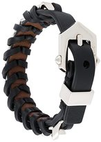 Givenchy woven buckled bracelet
