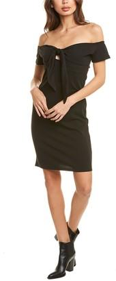 Bebe Off-The-Shoulder Mini Dress