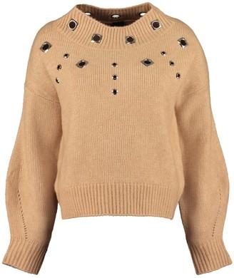 Pinko Tagikistan Ribbed Crew-neck Sweater