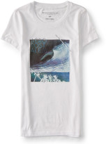 Aeropostale Wave Scene Graphic T