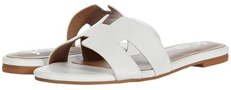 French Sole Alibi Sandal (White Leather) Women's Shoes