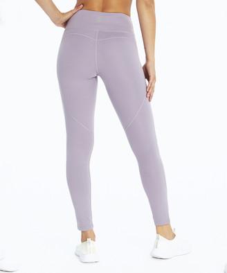 Ash Balance Collection Women's Leggings PURPLE - 27'' Purple High-Waist Wren Crop Leggings - Women