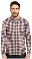 AG Adriano Goldschmied Grady Shirt in Crepe Plaid