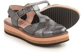 Wonders T-Strap Flatform Sandals - Leather (For Women)