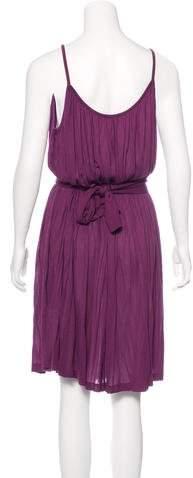 Tomas Maier Sleeveless Pleated Dress