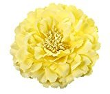 Pulison(TM) Peony Flower Hair Clips Wedding Bridal Bridesmaid Prom Festival Hairpin Brooch (G)