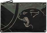 Valentino Camouflage Panther Nylon Bag
