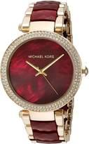 Michael Kors Women's Parker and Gold Watch MK6427