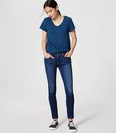 LOFT Petite Modern Skinny Jeans in Dark Indigo Wash