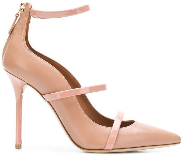 Malone Souliers pointed toe pumps