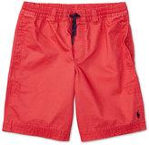 Ralph Lauren Cotton Twill Shorts, Big Boys (8-20)