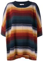 Chloé striped oversized jumper