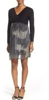 Maternal America Women's Crossover Maternity Dress