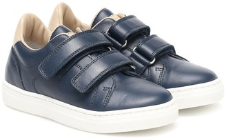 BRUNELLO CUCINELLI KIDS Leather sneakers