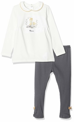 Chicco Girl's Completo T-Shirt Maniche Lunghe Con Leggings Clothing Set