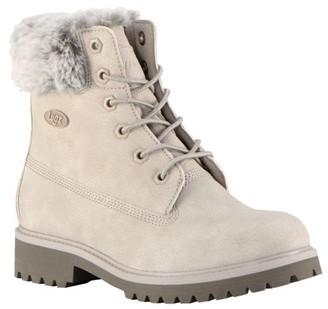 Lugz Women's Convoy Fur Oxford Boots