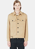Maxwell Snow Men's Wool Ike Jacket In Camel