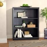 Andover Mills Caines Standard Bookcase Color: Black Oak