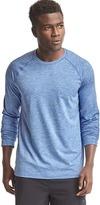 Gap Brushed tech jersey crewneck pullover
