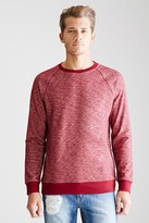 Forever 21 Marled Raglan Sweatshirt