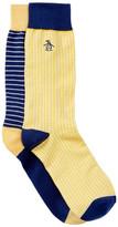 Original Penguin Yellow Multi Socks - Pack of 2