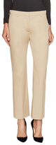 Prada Linea Rossa Cotton Solid Flared Trouser