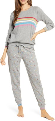 PJ Salvage Stripe Thermal Pajamas