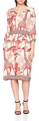 Daniel Hechter Women's Dress Knee-Length Loose Fit 3/4 Sleeve Dress,(Manufacturer Size: 40)