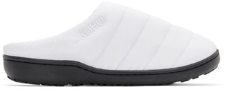 SUBU White Uneveness Loafers