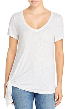 Elan International Side Tie Tee