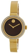 Movado Women's Bold Diamond Bangle Watch - 0.210 ctw