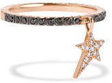 Diane Kordas 18-karat Rose Gold Diamond Ring - 7