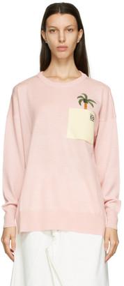 Loewe Pink Ken Price Edition La Palme Sweater