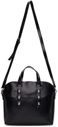 Comme des Garcons Black Synthetic Leather Small Bag