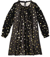 Kate Spade Girls' Scattered Star Chiffon Dress - Sizes 7-14