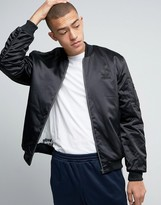 adidas New York Pack SST Bomber Jacket In Black BK7216