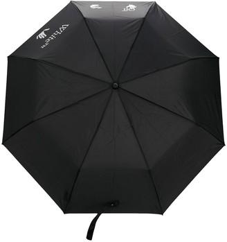 Off-White Logo Print Umbrella