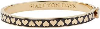 Halcyon Days Skinny Heart Bangle