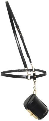 Alexander McQueen Myth Cylinder leather belt bag