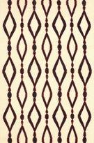 nuLoom 100-Percent Wool Flatweave Wanda Area Rug, 5-Feet by 8-Feet