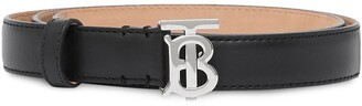 Burberry TB monogram motif belt