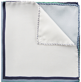Jaeger Silk Colourblock Pocket Square