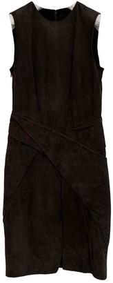 Alexander Wang Green Suede Dresses