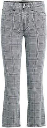 Joe's Jeans The Callie Plaid Cropped Bootcut Pants