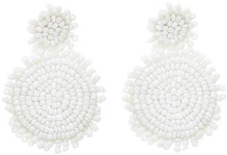 Amrita Singh Women's Earrings White - White Bead Earrings