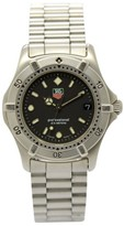 Tag Heuer 2000 WE1210-R Stainless Steel with Black Dial 34mm Mens Watch