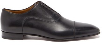 Christian Louboutin Greggo Leather Derby Shoes - Black