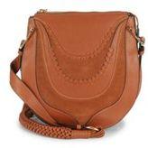 Sam Edelman Sienna Tasseled Leather Saddle Bag
