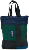 Longjourney - mixed patchwork tote bag - men - Leather/Nylon - One Size