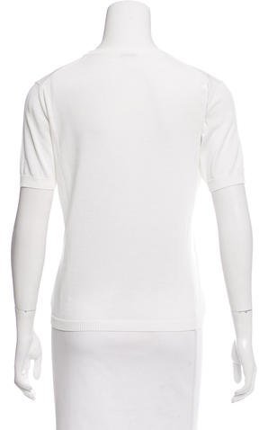 Malo Knit Short Sleeve Top